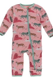 Kickee Pants Print Coverall with Zipper - Product Mini Image