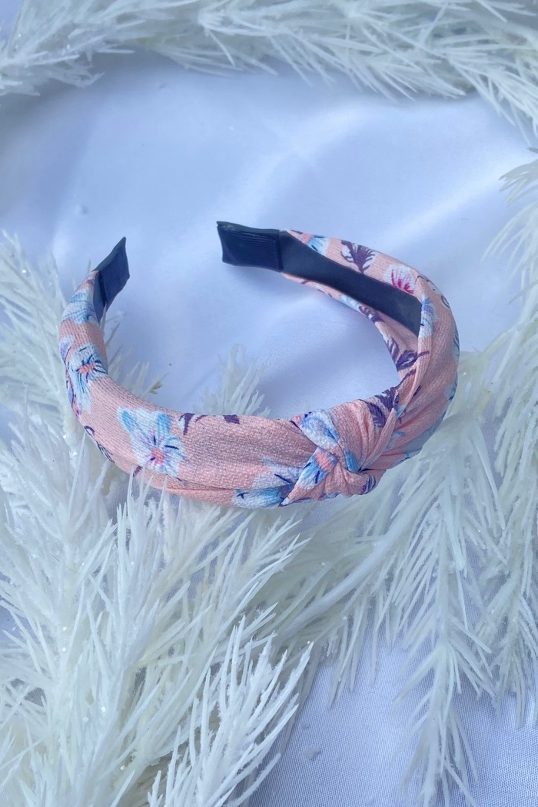 CJ Rose print fabric headband - Front Cropped Image