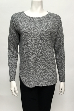 Nally & Millie Print french terry top - Alternate List Image