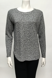 Nally & Millie Print french terry top - Product Mini Image