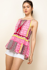 Thml Print Halter Top - Front cropped