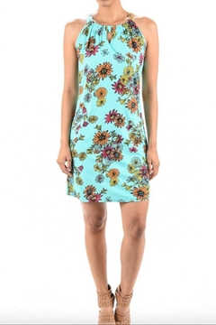 Shoptiques Product: Print Keyhole Dress