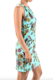 Aryeh Print Keyhole Dress - Back cropped