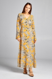 Racine Print Maxi Dress - Product Mini Image