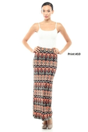 Capella Apparel Print Maxi Skirt - Product Mini Image