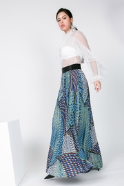cqbycq Print Maxi Skirt - Product Mini Image