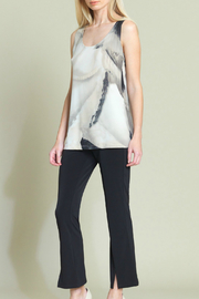 Clara Sunwoo Print Midlength Scoop Neck Tank - Product Mini Image
