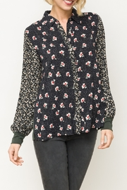 Mystree Print Mix Shirt - Front cropped