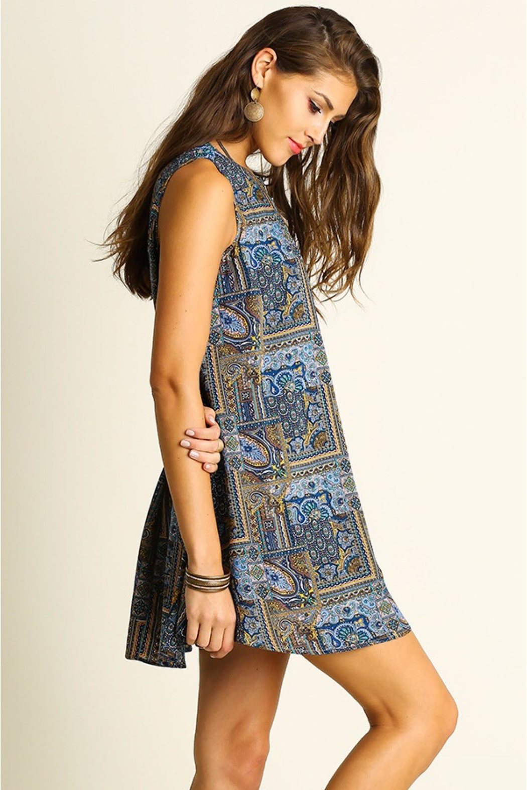 People Outfitter Print Shift Dress - Main Image