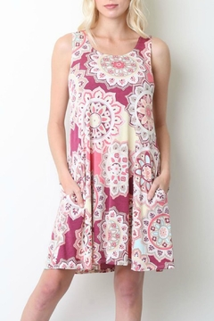 Style in the USA Print Tank Dress - Product List Image