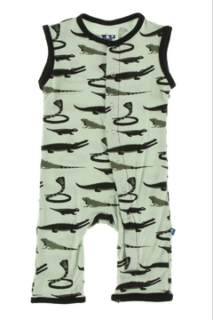 Kickee Pants Print Tank Romper - Alternate List Image