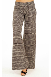 Veronica M Print Wide Leg No Pocket Pant - Product Mini Image