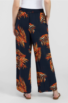 Tribal Print Wide Leg Pants - Alternate List Image