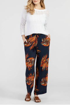 Tribal Print Wide Leg Pants - Product List Image