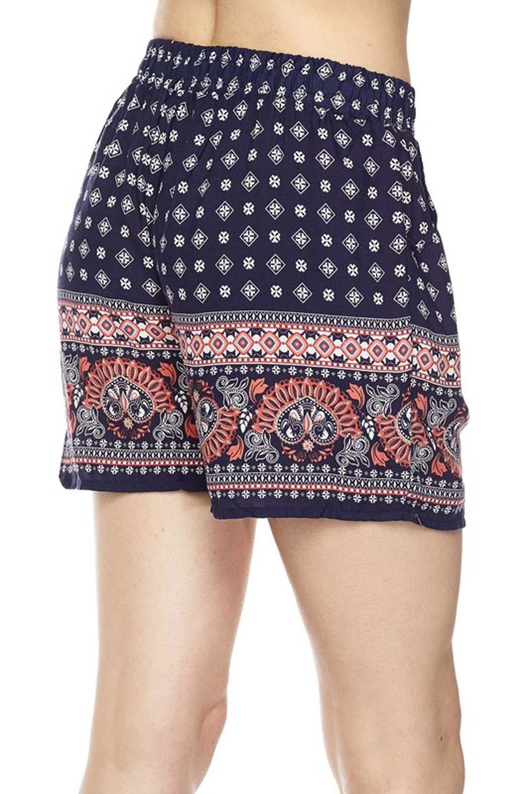 New Mix Print Woven Short - Front Full Image
