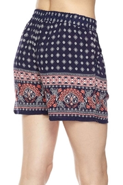 New Mix Print Woven Short - Front full body