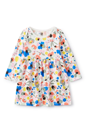Tea Collection  Printed Baby Dress - Swedish Floral - Product Mini Image