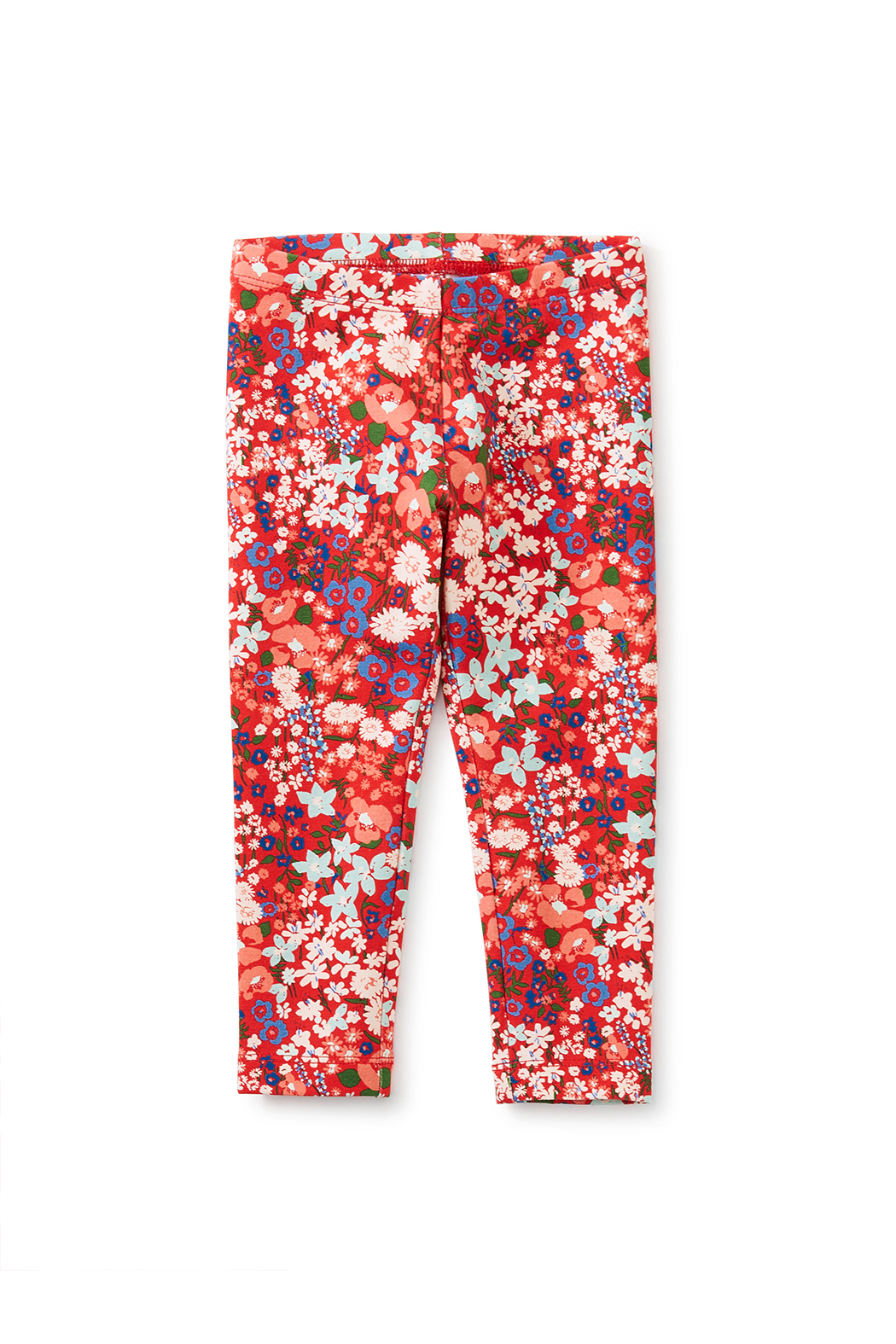 Tea Collection Printed Baby Leggings - Garden Sunset - Front Full Image
