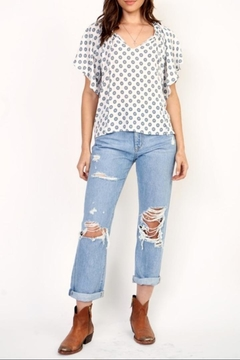 Olivaceous Printed Blouse - Alternate List Image