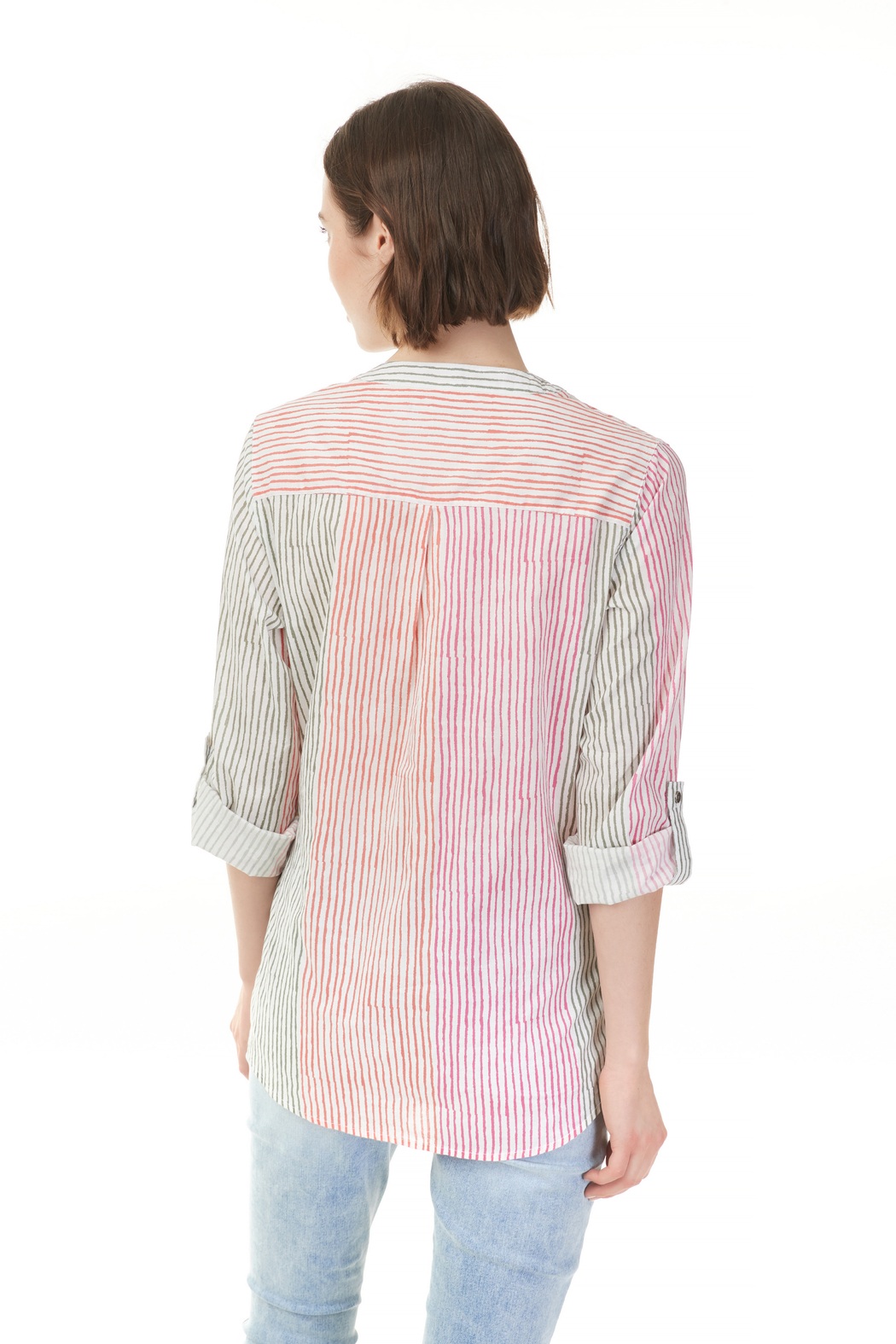 Charlie B. Printed Blouse - Front Full Image