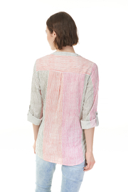 Charlie B. Printed Blouse - Front full body