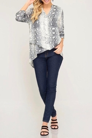 LuLu's Boutique Printed Blouse - Other