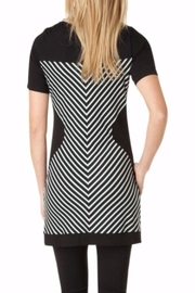 Yest Printed Bodycon Dress - Front full body