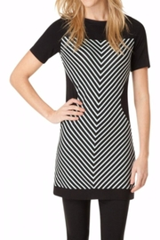 Yest Printed Bodycon Dress - Front cropped