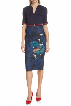 Ted Baker Printed Bodycon - Product List Image