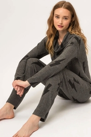 Mystree Printed Brushed Hacci Pullover - Other