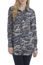 Lysse Printed Button-Down Top - Product Mini Image