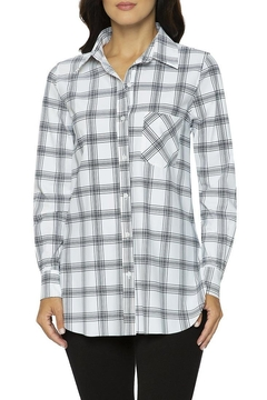 Lysse Printed Button-Down Top - Product List Image