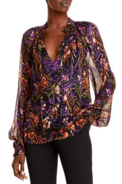 Ramy Brook Printed Caden Blouse - Product List Image