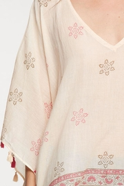 Love Stitch Printed Caftan Cover-Up - Other