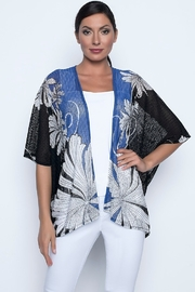 Frank Lyman Printed Cape Style Cardigan - Product Mini Image