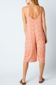 Cozy Casual Printed Capri Jumpsuit - Side cropped