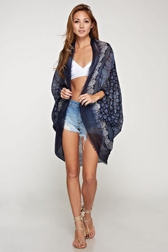 Love Stitch Printed Cocoon Wrap - Product List Image