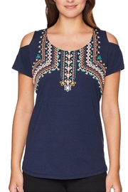 Tribal Printed Cold Shoulder - Product Mini Image