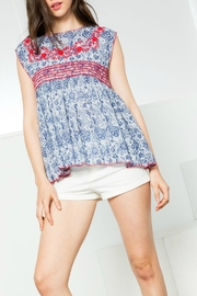 Thml Printed Cap Sleeve - Product Mini Image
