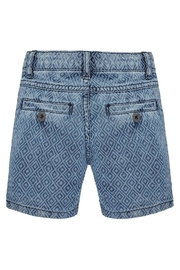 Mayoral Printed Denim Short - Front full body