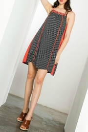 Thml Printed Embroidered Dress - Product Mini Image