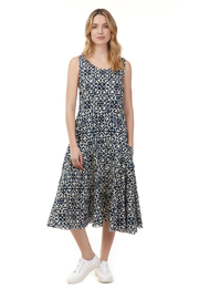 Charlie B. Printed Fit and Flare Dress - Product Mini Image