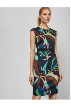Ted Baker Printed Fitted Dress - Alternate List Image