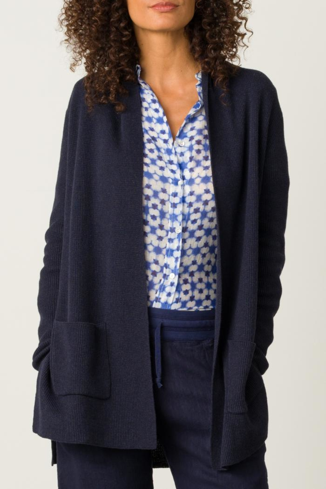 Margaret O'Leary Printed Fitted Shirt - Front Full Image