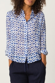 Margaret O'Leary Printed Fitted Shirt - Front cropped