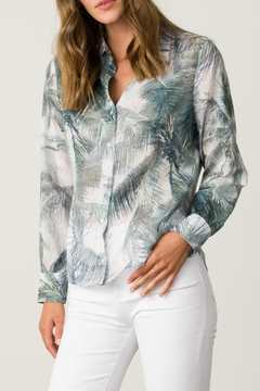 Margaret O'Leary Printed Fitted Shirt - Product List Image
