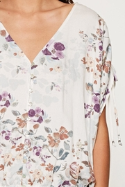 Lovestitch Printed Floral Blouse - Side cropped