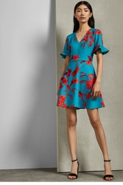 Ted Baker Printed Floral Dress - Product Mini Image