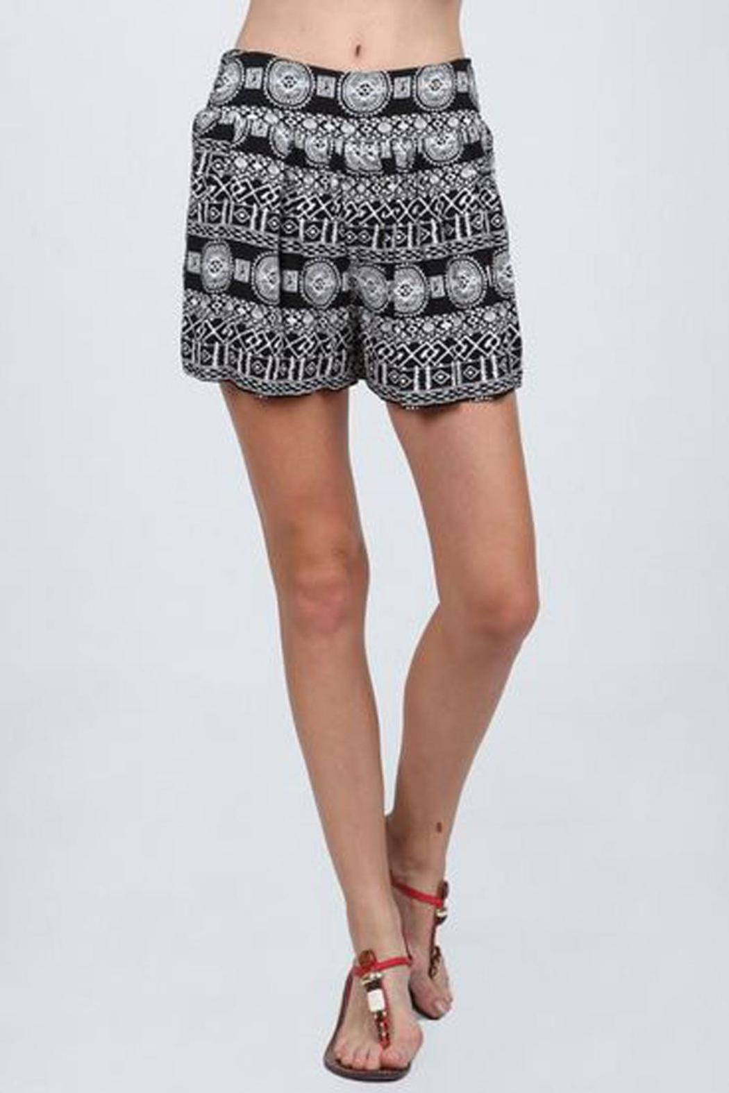 Printed Flowy Shorts from Missouri by MOss Boutique — Shoptiques