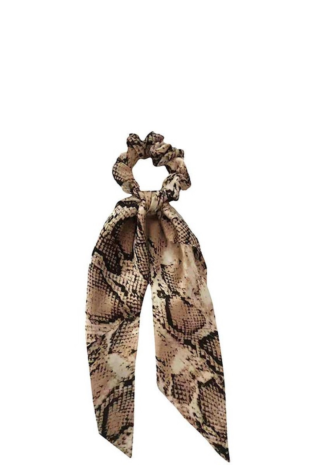 Pretty Simple Printed Hair Scrunchy Scarf - Side Cropped Image